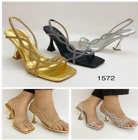 sandales couleur argent,or