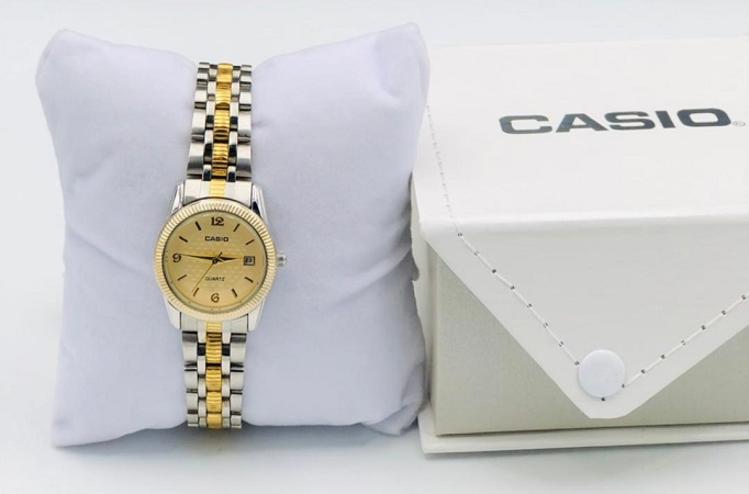 CASIO Argent OR -HOMME