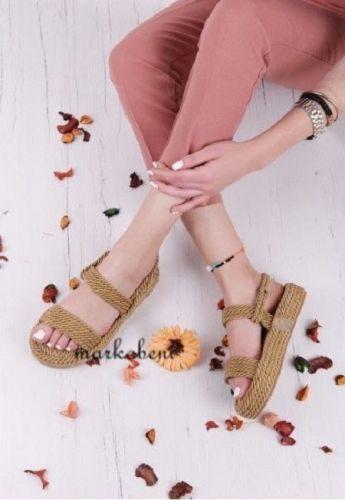 sandales compensées pour femme